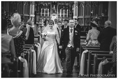 Wedding photography at St Joseph's R.C church, Stanley in Co. Durham.  Wedding photography by husband and wife team www.2tonephotography.co.uk