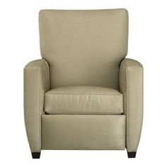 Color is drab, but it's recliner that's small enough to fit in my apartment