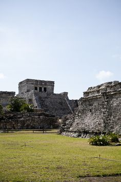 Tulum is the site of a Pre-Columbian Maya walled city serving as a major port for Cobá. The ruins are situated on 12-meter (39 ft) tall cliffs, along the east coast of the Yucatán Peninsula on the Caribbean Sea in the state of Quintana Roo, Mexico.