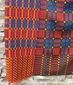 Old Welsh Blanket, Antique Tapestry AT75