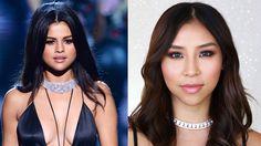 Victoria's Secret 2015 Selena Gomez Makeup Tutorial    Tina Yong - YouTube