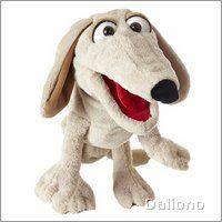 Living Puppets Handpuppe Hund Kuddelmuddel