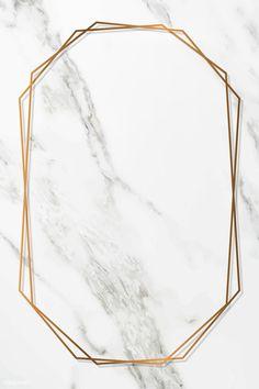 Octagon gold frame on white marble background vector Frühling Wallpaper, Gold Wallpaper Background, Marble Iphone Wallpaper, Wallpaper Backgrounds, Backgrounds Marble, Aztec Wallpaper, Luxury Background, Frame Background, Iphone Backgrounds