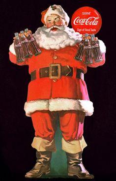 Vintage Coca-Cola Christmas ad                                                                                                                                                                                 Más