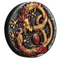 Thisstunning release combines colour and antiquing andCelebrates the Chinese dragon.  Two ounces of99.99% pure silver Symbolic dragon design Antiqued surface treatment ..Price: US $219.14 Dragon Design, Chinese Dragon, Silver Coins, Decorative Plates, Antiques, Color, Antiquities, Colour, Antique