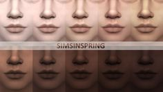 Phenomenal Cool skintones by simsinspring at Mod The Sims via Sims 4 Updates