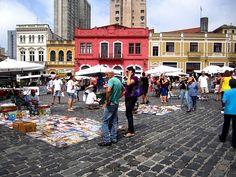 Largo da Ordem - Curitiba/ Brazil   Another favorite place <3
