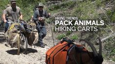 Have you been out on the trail and seen an increase in pack goats over the past few years? Hikers are turning to alternative methods to packing their gear into the backcountry and pack goats are increasingly popular. Have you seen hiking carts? You probably haven't. There is a good reason why and that is all about to change.    Read more at https://www.honeybadgerwheel.com/blogs/news/packing-trends-pack-goats-and-hiking-carts