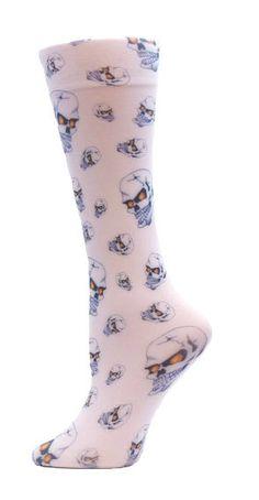 4899de9e1ee Absolute Socks - Halloween Skulls Trouser Socks