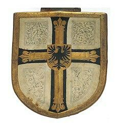 Schild der Großmeister, Deutsches Ritters Orden  Coat of Arms Shield of The Grand Master of The Teutonic Order