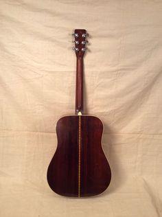 Guitar vintage herringbone