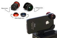 Olloclip - Macro Micro Fish Eye Slide on and Affordable!