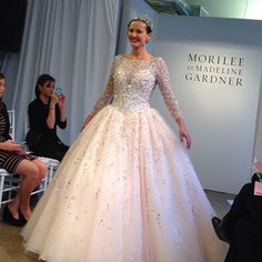 The ultimate princess gown by Mori Lee