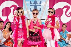 From pier to #catwalk, Royal Caribbean is full of surprises for your little doll. #Barbie