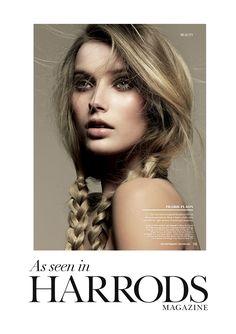 Harrods Magazine May beauty editorial