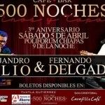 Eventos Tuxtla / Alejandro Filio & Fernando Delgadillo en Tuxtla