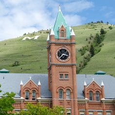 The 25 most beautiful college campuses in America- University of Montana, Missoula, Montana