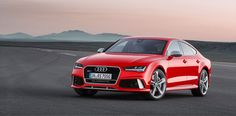 New Release Audi RS7 Sportback 2015 Review Front Side View Model