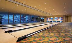 your own bowling alley...