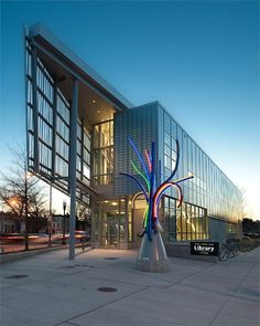 Shaw Library Exterior, Washington D.C.