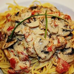 New Recipes, Cooking Recipes, Favorite Recipes, Tasty, Yummy Food, Pasta Noodles, Food Humor, Pasta Dishes, I Foods