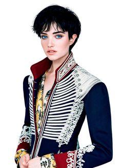 Grace Hartzel by Patrick Demarchelier for Vogue Japan November 2016
