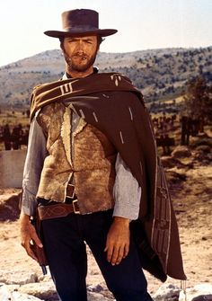 The Man With No Name ( A Fistful Of Dollars -1964, For A Few Dollars More -1965, The Good, The Bad And The Ugly -1966)