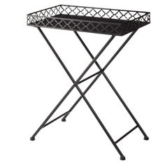 Accent Table - Black Metal