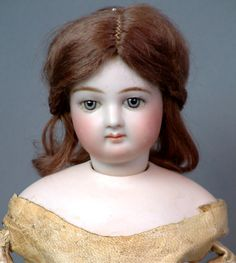 "16.5\"" Jumeau Poupee Peau In FABULOUS Costume Antique Doll!"