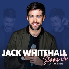 Jack Whitehall Tickets & Tour Dates Comedy Tickets, Live At The Apollo, English Comedians, Bad Education, Jack Whitehall, Comedy Actors, Hot Tickets, Singles Events, Michael Sheen