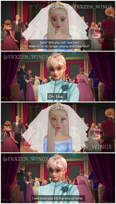 Discovered by a s t r i d. Find images and videos about love, disney and wedding on We Heart It - the app to get lost in what you love. Frozen Funny, Frozen Memes, Jelsa, Cute Disney, Disney Dream, Disney Princess Memes, Sailor Princess, Disney Princesses, Elsa Frozen
