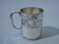 1920's Tiffany sterling baby cup