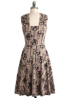 In a Glass of Its Own Dress, #ModCloth