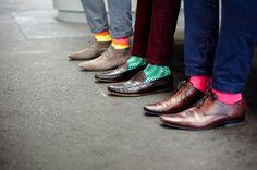 Rock My Socks - Stylish Colourful Socks For Men. Buy Colourful Design Socks in our Online Store! Foot Socks, My Socks, Funky Socks, Colorful Socks, Wedding Socks, Wedding Men, Mens Style Guide, Men Style Tips, Men Dress