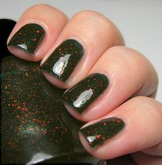 House of Troubles 5 ml mini blackened pine by ALIQUIDLacquer