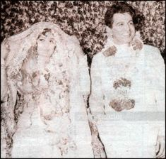 Saira Banu and Dilip Kumar - She came to Bollywood dreaming of marrying Dilip Kumar and she did...She was 22 and he was 44 @ tat time....