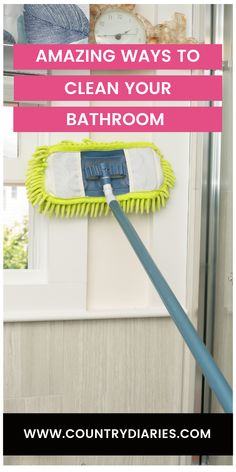 These tips and tricks are the first ways to make your bathroom a better place. Your bathroom will never look the same after you have done these tips and tricks. #cleaning#cleaninghacks#householdhacks#cleaningtips#householdtips