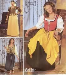 medieval costume pattern free - Buscar con Google