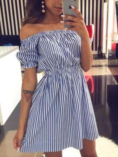 Simple Dresses for teens Mode Outfits, Girly Outfits, Dress Outfits, Summer Outfits, Casual Outfits, Fashion Dresses, Summer Dresses, Fashion Clothes, Evening Dresses