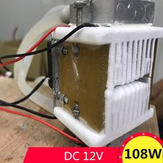 Dc12v 108w Semiconductor Electronic Peltier Refrigeration Cold