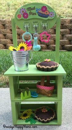 Wellie Wisher mud pie kitchen diy American Girl Storage, American Girl Crafts, American Girls, Doll Crafts, Diy Doll, Paper Crafts, Girl Dolls, Baby Dolls, American Girl Wellie Wishers