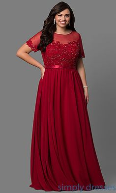 Shop Simply Dresses for plus size formal dresses for prom.  Plus size cocktail dresses, evening gowns in plus sizes, and plus size dresses.