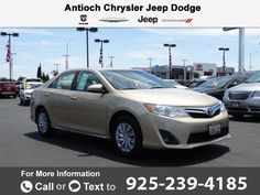 2012 *Toyota*  *Camry* Call for Price  miles 925-239-4185 Transmission: Automatic  #Toyota #Camry #used #cars #AntiochChryslerJeepDodgeRam #Antioch #CA #tapcars