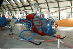 Bell Helicopter OH-13H Spanish Air Force HE.7A-52 2536 / 2541 Museo del Aire Madrid 2014-10-23 � Karsten Palt, ID 10599