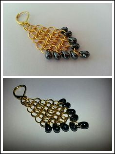 DIY earrings #DIY #Earrings - I buy these kind of earrings a lot, why can't I just make them?