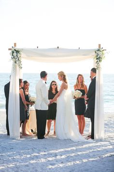 Longboat Key Club wedding / design by NK Productions / photo by audreysnowphotography.com