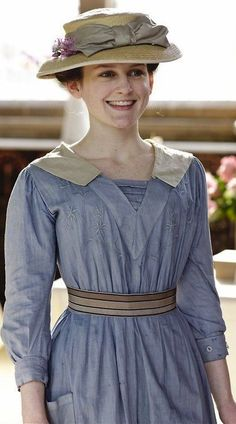 Downton Abbey - Daisy the scullery maid in 1912.
