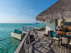 Maldives Water Bungalow : Daily Escape : Travel Channel