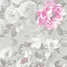 roseus - peony wallpaper   Designers Guild