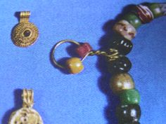 Detail of bead pendant from the Hon Hoard, Norway. Source: The Viking, by Bertil Almgren 1976.